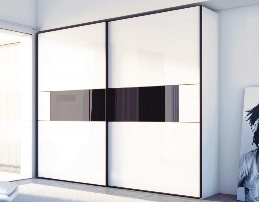 Белый шкаф купе в москве - шкаф купе белый глянец.